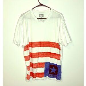 Converse All Star American Flag T-Shirt Men's XL
